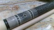 Stealth 19OZ Black and Gray Pool Cue